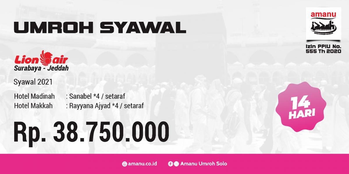 Umroh Syawal 2021